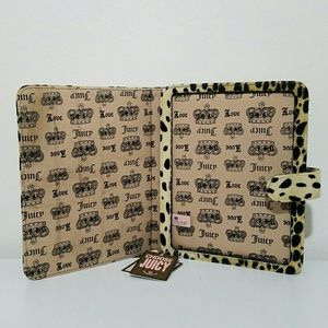Juicy Couture Accessories - Juicy Couture Animal Skin 2 View Ipad Cover Clutch